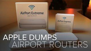 Apple dumps AirPort routers (CNET News) - CNETTV