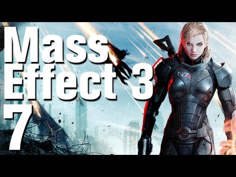 Mass Effect 3 Walkthrough Part 7 - Mars (Femshep Renegade) [No Commentary / HD]