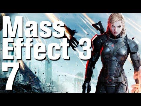 Mass Effect 3 Walkthrough Part 7 - Mars (Femshep Renegade) [No Commentary / HD]