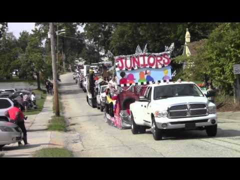 Benjamin Russell High School homecoming parade