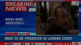 PNB Scam Accused Nirav Modi Arrested in London, to be Produced in London Court - NEWSXLIVE