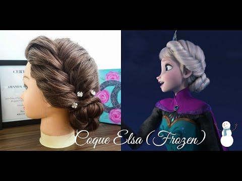 Penteados: Coque Estilo Elsa (Frozen)