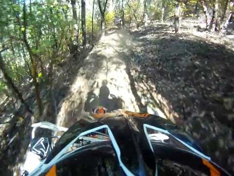 KTM 250 SX Riding the old Ditch Trail