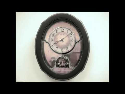 Rhythm Timecracker Vintage Clock - 4MH875