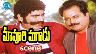 Maavoori Magaadu Movie Scenes - Sridevi Saves Gollapudi Maruthi Rao From Goons || Krishna - IDREAMMOVIES