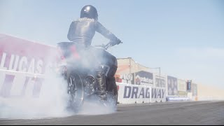 بالفيديو: دوكاتي ديافل تتحدى شيفروليه كورفيت في سباق سحب