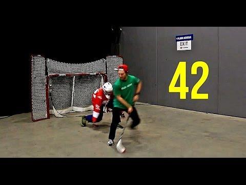 Floorball Creative Shootout Dangles! [Episode #42]