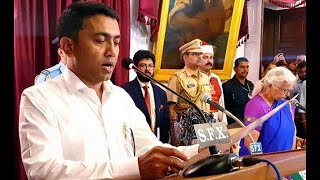 Floor Test In Goa Assembly On Wednesday, says CM Pramod Sawant After Taking Charges - NEWSXLIVE