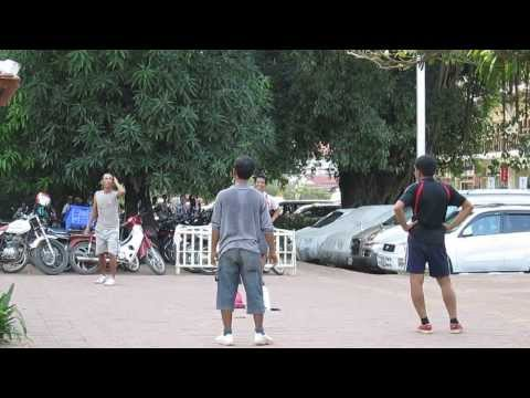 footbag in Siem Reap