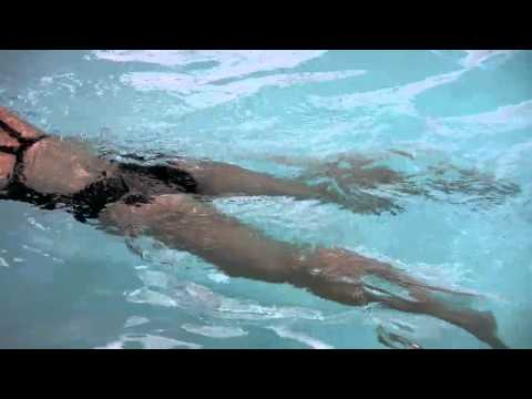 Kicking Exercise for Swimming the Breaststroke