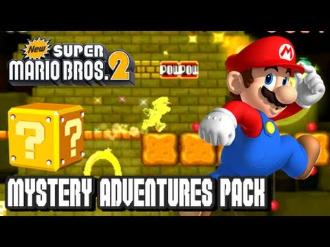 New Super Mario Bros. 2 Coin Rush Mode DLC - Mystery Adventures Pack