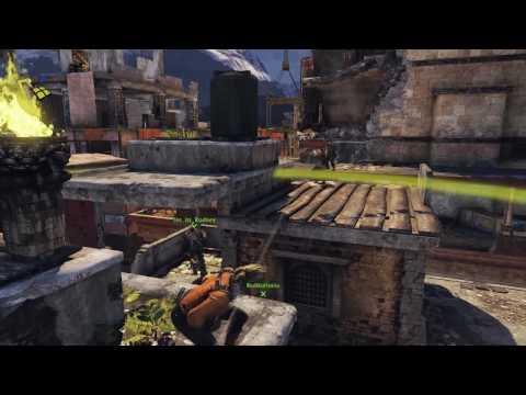 UNCHARTED 2 Siege co-op gametype gameplay