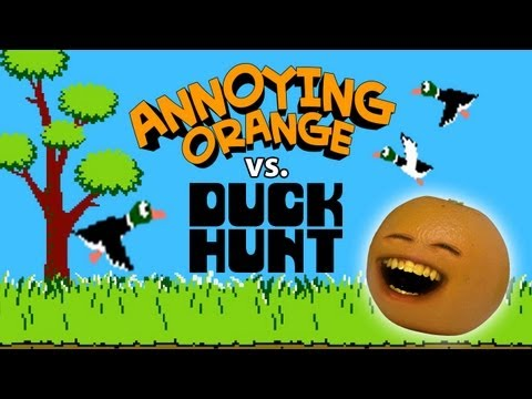Annoying Orange vs Duck Hunt