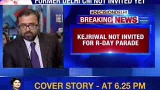 Arvind Kejriwal not invited for Republic Day parade - NEWSXLIVE