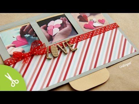 Tarjeta San Valentin * Surprise Slide * // Valentines Cards