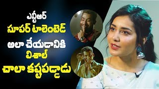 Jr NTR is very talented, Vishal has worked hard to match him: Raashi Khanna compares Temper & Ayogya - IGTELUGU