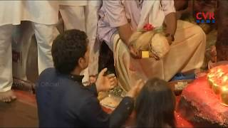 Sachin Tendulkar visits Lalbaugcha Raja Pandal in Mumbai | CVR News - CVRNEWSOFFICIAL