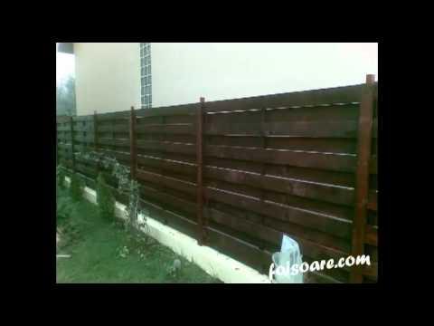 garduri din lemn, garduri de lemn