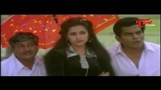 Sneham Kosam Movie Comedy Scenes || Back 2 Back || Chiranjeevi || Meena - NAVVULATV