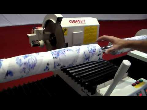 Máquina de Cortar Tecido em Bobina Semi Automática Sun Special