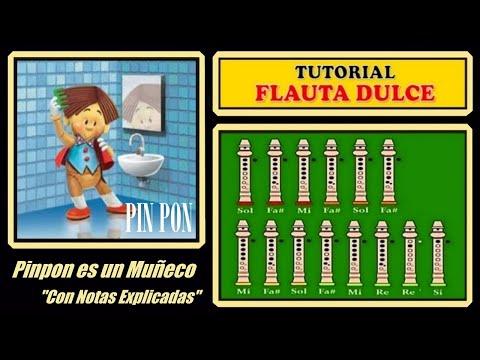 Pin Pon es un muñeco en Flauta
