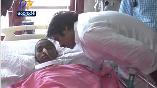 Pawan Kalyan Burst Into Tears After Seeing The Condition Of Baby Srija - ETV2INDIA