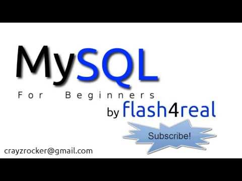 MySQL For Beginners - Tutorial 1