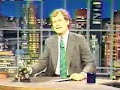Oh Catherine - David Letterman