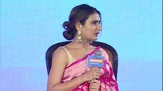 Women Of Steel Summit: Fatima Shaikh says, Having strong opinion makes women, a steel - NEWSXLIVE