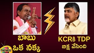 KCR says Chandrababu Naidu Playing Proxy Game to control TS | #TelanganaElections2018 | Mango News - MANGONEWS