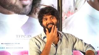 Actor Vijay Devarakonda Press Meet About NOTA | TFPC - TFPC