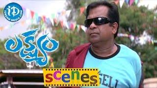 Lakshyam Movie Scenes || Brahmanandam Plans to Kill Gopichand Comedy Scene - IDREAMMOVIES