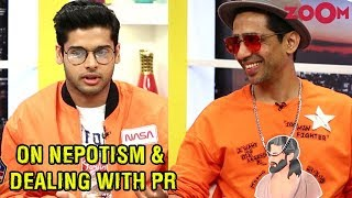 Abhimanyu & Gulshan discuss the Nepotism issue, dealing with PR Machinery & more - ZOOMDEKHO