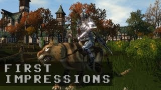 Champions of Regnum Gameplay | First impressions HD