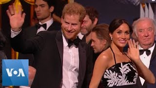 Prince Harry, Meghan Attend Royal Variety Performance - VOAVIDEO