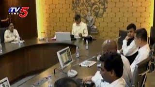 AP CM Chandrababu Review Meet on Assembly and High Court Designs | Amaravati | TV5 News - TV5NEWSCHANNEL