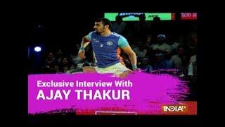 Pro Kabaddi League not to blame for Asian Games loss: Ajay Thakur - INDIATV