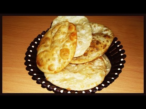 Bhatura or Batura Easy Recipe