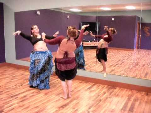 Tribal Moon Belly Dance ATS(R) Drills and Skills - Camel Steps