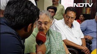 शीला दीक्षित ने किया दिल्ली की सातों सीटें जीतने का दावा - NDTVINDIA