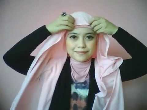 Hijab tutorial by dentist_nia part 4