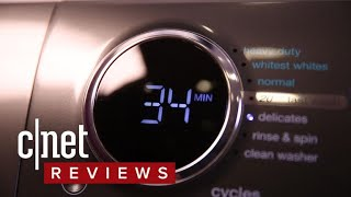 Electrolux EFLW417SIW washing machine review - CNETTV