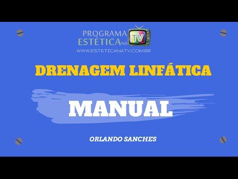ESTETICA NA TV: DRENAGEM LINFÁTICA MANUAL