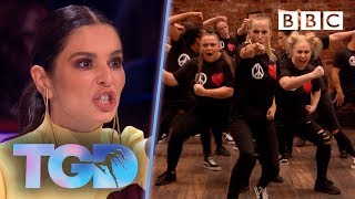 Cheryl's passions rise as fierce Unity UK smash it! - The Greatest Dancer | Auditions - BBC
