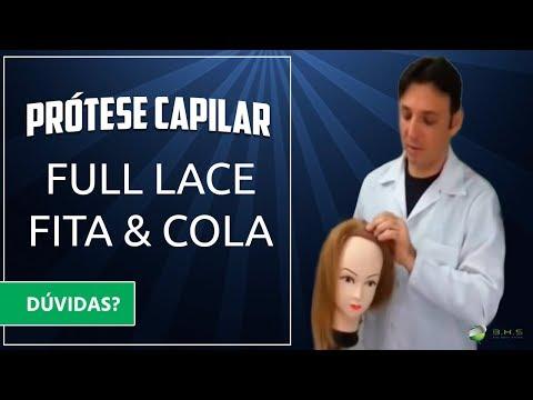 Prótese Capilar Full Lace Fita  & Cola