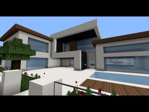 Moderne Minecraft Häuser, Wolkenkratzer - Modernes Haus - Best Modern House - Skyscraper City