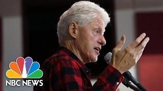 Bill Clinton Blasts Bernie Sanders' View on Economy, Wall Street | NBC News - NBCNEWS