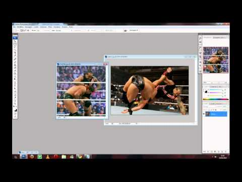 WWE-ITA presents: Photoshop Tutorial - Fondere due immagini