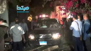 بالفيديو.. لحظة خروج جثمان الأبنودى من منزله إلى مثواه الأخير