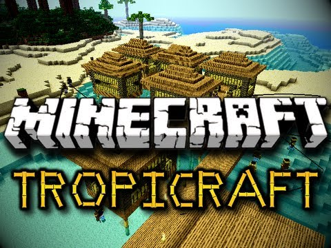 Minecraft Tropicraft Mod TROPICAL REALM PALM TREES & MORE Ver 3.0.2 HD